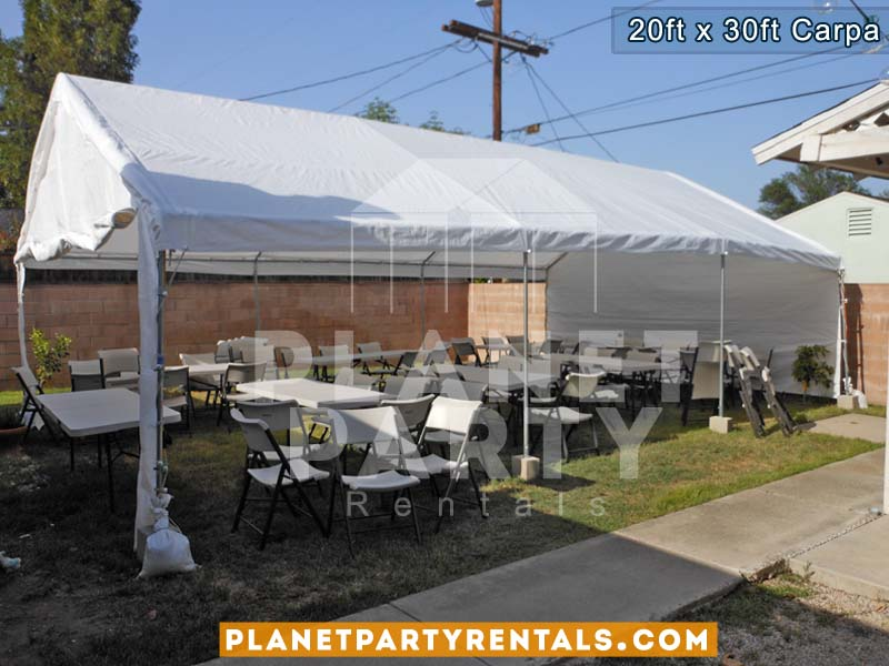 20ft x 30ft Carpa de Renta | Fotos y Precios | San Fernando Valley | Van Nuys Reseda North Hollywood Sun Valley