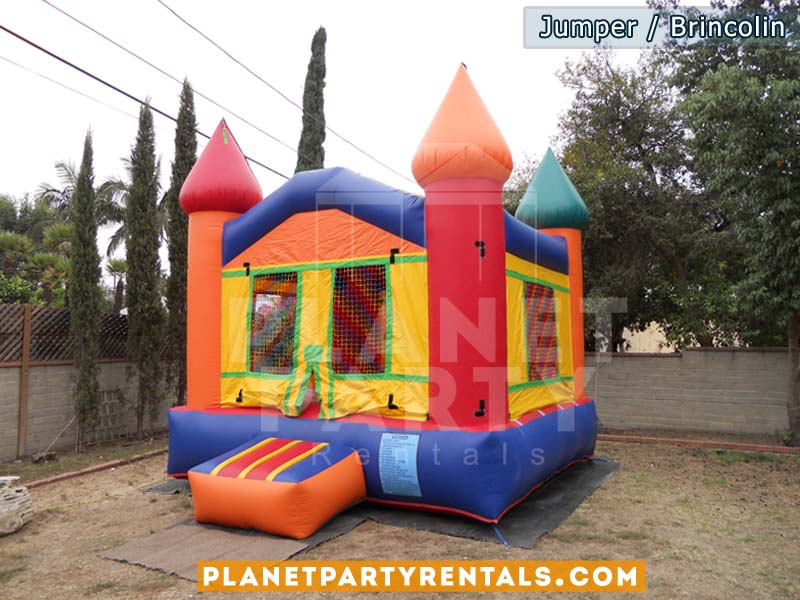 Jumper con sillas y mesas para rentar | Jumpers para rentar en van nuys panorama city reseda north hills north hollywood sun valley arleta san fernando
