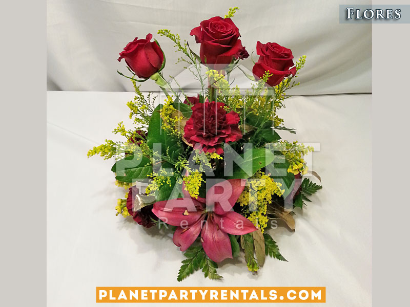 Arreglos de flores fotografia foto y video bodas carpas for Mesas y sillas para xv anos