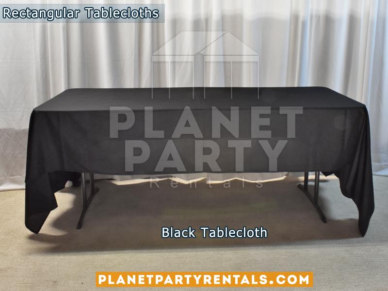Mantel Rectangular Color Negro