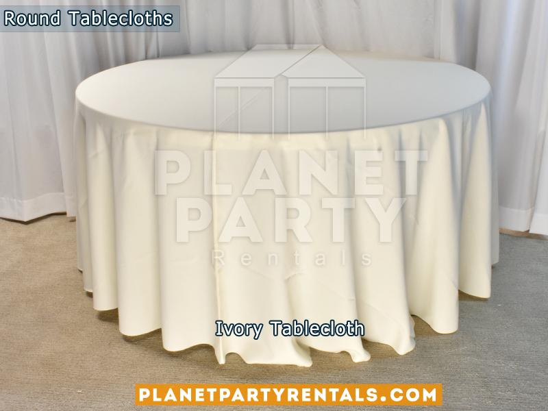 Mantel Redondo Color Ivory