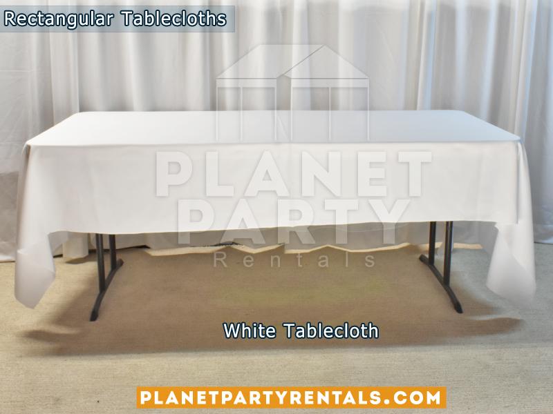 Mantel Rectangular Color Blanco
